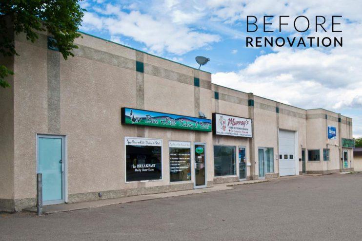 Richmond Mall Before Renovation, Brandon, 13th Street