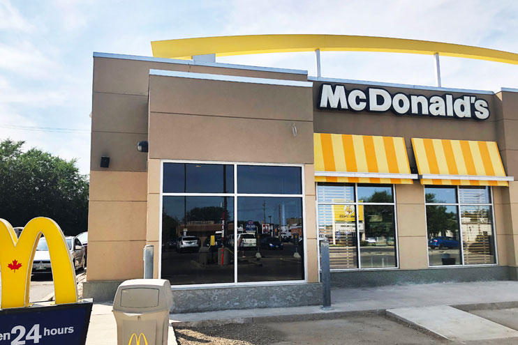 McDonald's on Victoria, Brandon, Jacobson Commercial