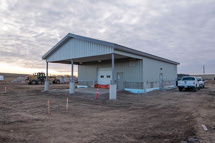 Eastview Landfill Site, Brandon MB